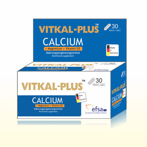Picture of Vitkal Plus calcium  Tablet (made in Germany)