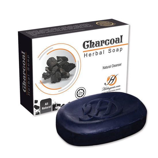 Picture of Charcoal Herbal Soap