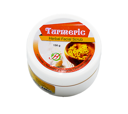 Picture of Tumeric Herbal Face Scrub