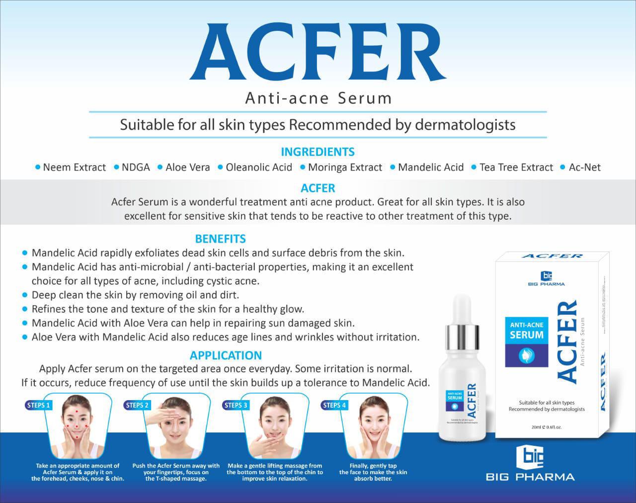 Picture of Anti Acne Serum (ACFER)